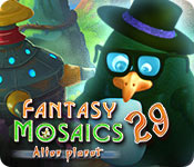 Fantasy Mosaics 29: Alien Planet