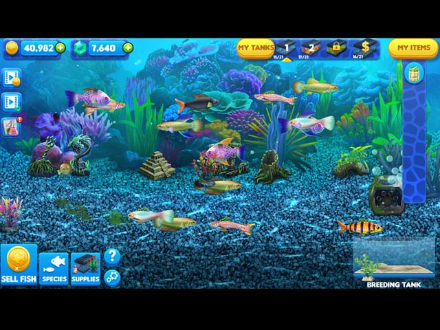 Fish tycoon 2 virtual aquarium full version free download for Moai fish tank